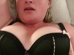 Wife fucked with massive black dildo!!!