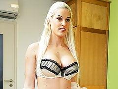 LOAN4K. Nice model in lingerie accepts sex for cash