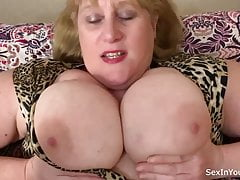 Fat mature loves to suck